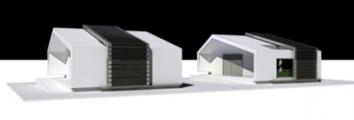 Rhome, sistema di scorrimento copertura fotovoltaica Solbian