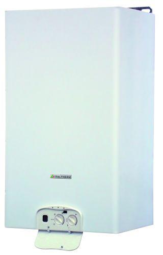 Caldaia a basse emissioni che permette lo scarico a parete