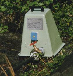 Generatore idroelettrico con batteria di accumulo HYDRO 625/1525