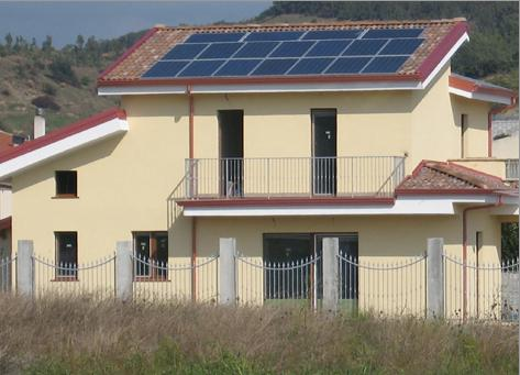 Villa unifamiliare in Classe A 1