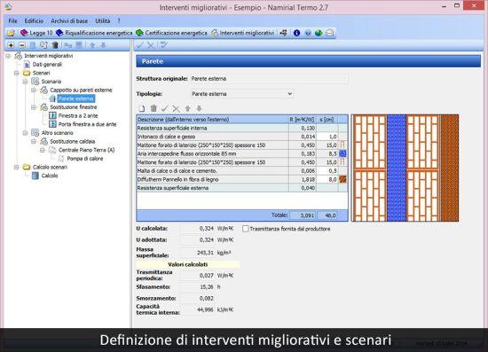 """Nuovo modulo """"Interventi Migliorativi"""" del software Termo"""