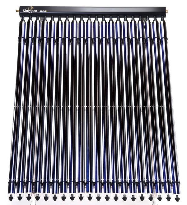 JODO Kingspan, il collettore solare sottovuoto