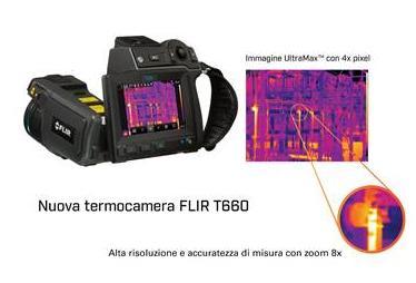Nuove funzionalità per le termocamere Serie T