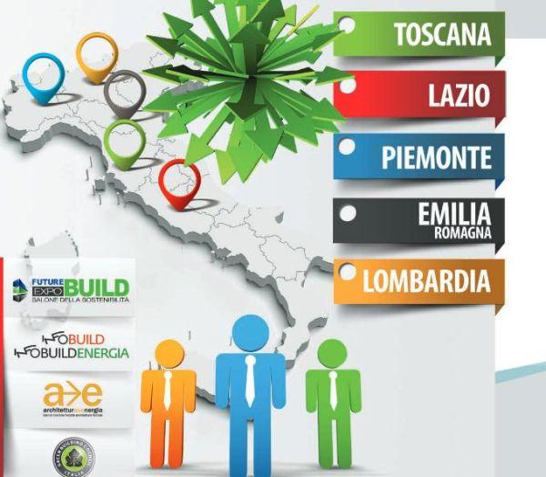 Future Build Meeting nel 2015 in 5 regioni italiane