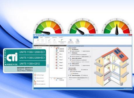 Nuova versione EC700 – Calcolo prestazioni energetiche degli edifici