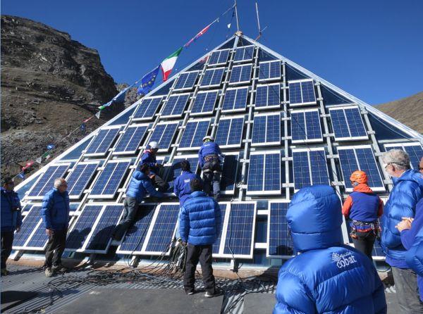 Eurosolar Prize Pyramid LAB K2 Nepal