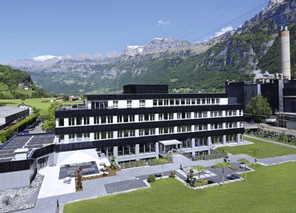 Eurosolar Prize: Edificio dell'industria Flumroc
