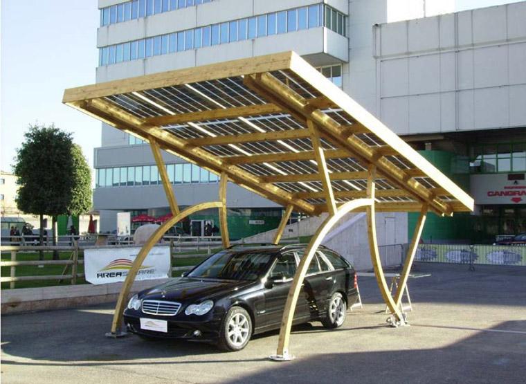 Pensilina fotovoltaica COVER CAR