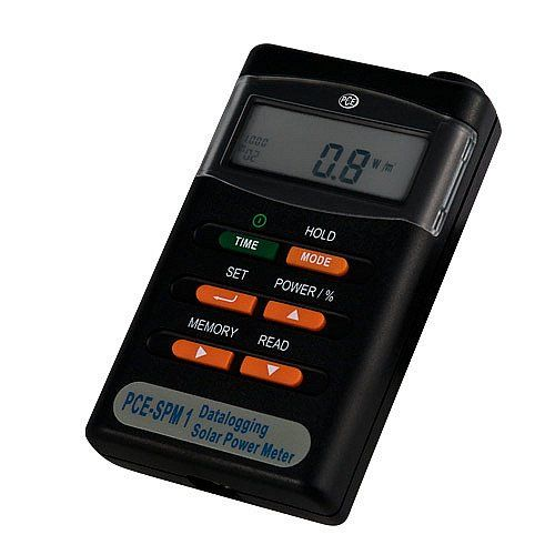 PCE-SPM 1, misuratore di radiazioni per energia solare