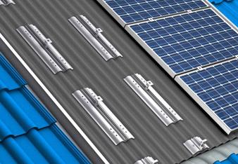 Conergy solar delta sistema di montaggio
