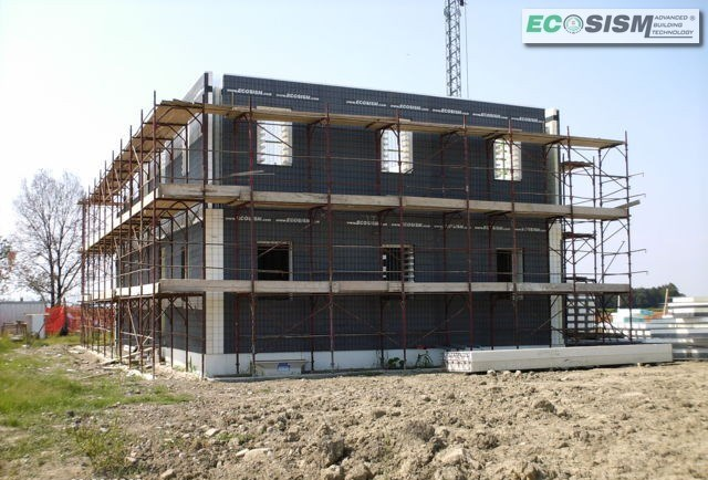 Sistema costruttivo per edifici ad alto risparmio energetico