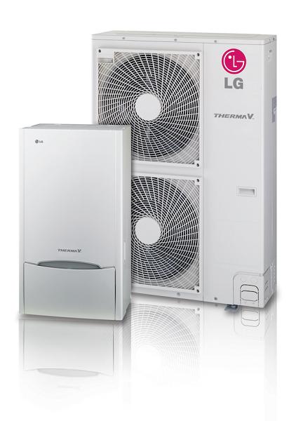 THERMA V, la nuova pompa di calore aria-acqua di LG Electronics