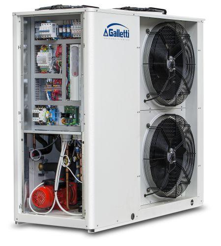Hiwarm Compact, pompa di calore per caldo/freddo e acqua calda sanitaria