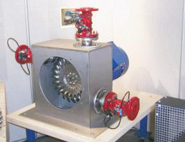 Turbina idroelettrica PELTON