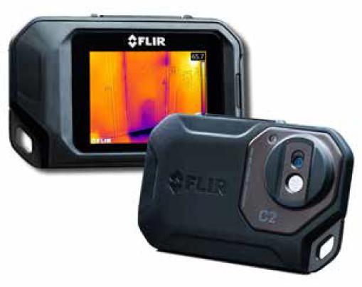 FLIR C2 – la termocamera compatta