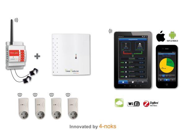 """""""Mini domotica"""" 4-Noks per l'autoconsumo fotovoltaico"""