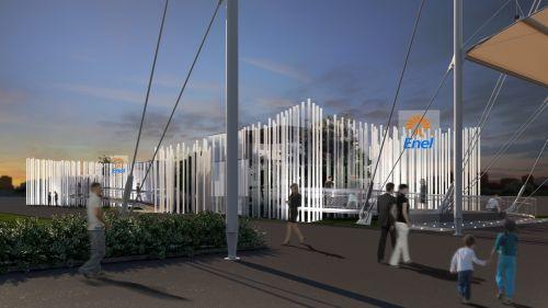 Padiglione Enel per l'Expo