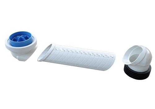 Manicotto regolabile per riparazione –  articoli sanitari