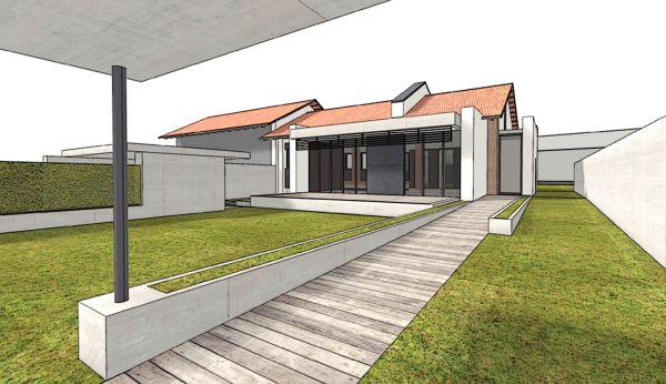 Riqualificazione Casa CorTau secondo i dettami dello Zero-Energy Building