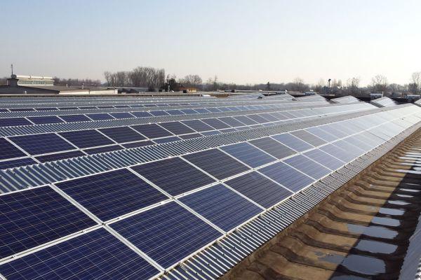 realizzazione fotovoltaico Enerray per la MA.BO di Correggio