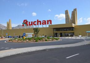 Due impianti fotovoltaici per l'Auchan di Cuneo e Palermo