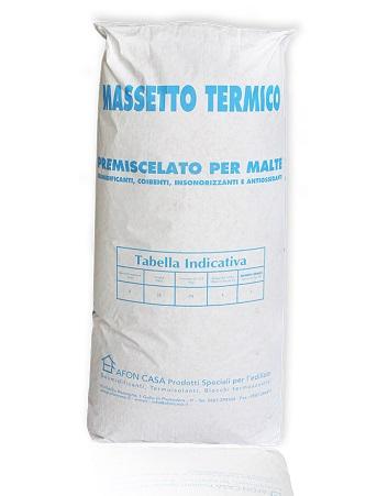 Massetto termico
