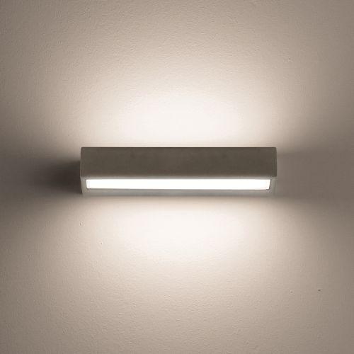 La leggerezza della luce e la solidità del cemento