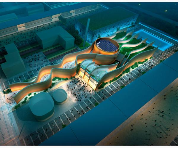Padiglione Emirati Arabi Uniti 1