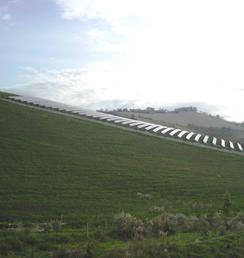 collina fotovoltaica