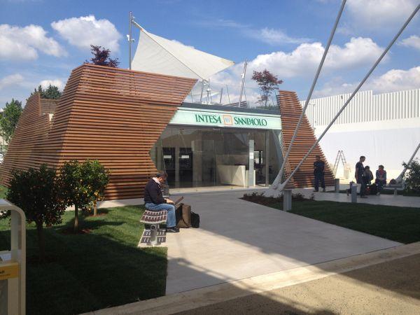 Padiglione N1 di EXPO 2015 di intesa San Paolo sostenibile e accogliente