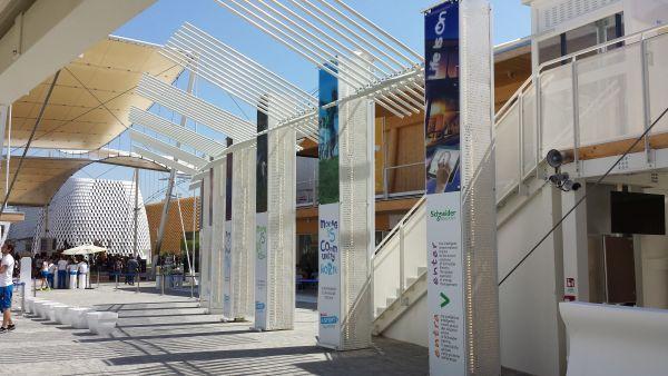 Le soluzioni Schneider Electric nel padiglione di Ferrero in Expo Milano 2015