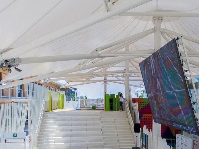 Expo Milano 2015, padiglioni espositivi riciclati come scuole per bambini