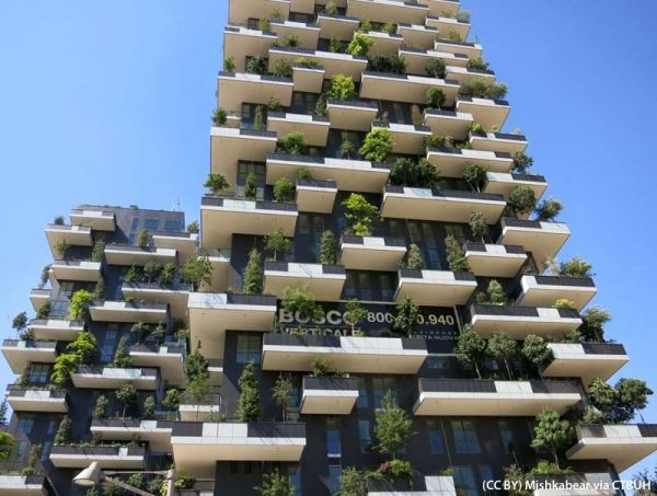 Il Bosco Verticale vince il Best Tall Buildings Awards 2015