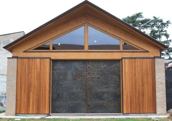 Edilizia ecosostenibile per i luoghi di culto, chiesa a Cerro