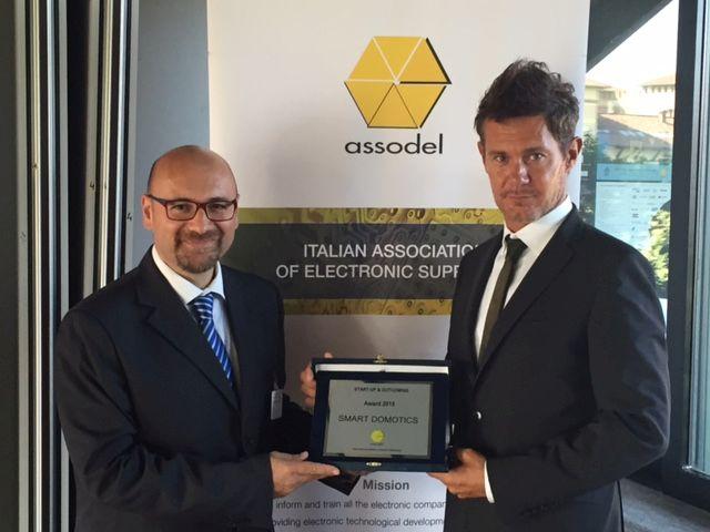 Premio Assodel per domotica ed efficienza energetica a Smart Domotics