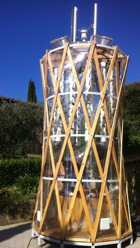 Vertical farm zero emissioni in aree urbane