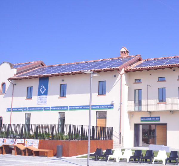Energia rinnovabile per la cascina Triulza e la centrale di controllo ad Expo