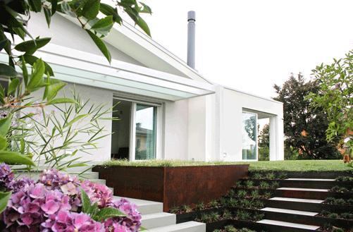 Aquarea T-CAP per la riqualificazione efficiente di un'abitazione a Treviso