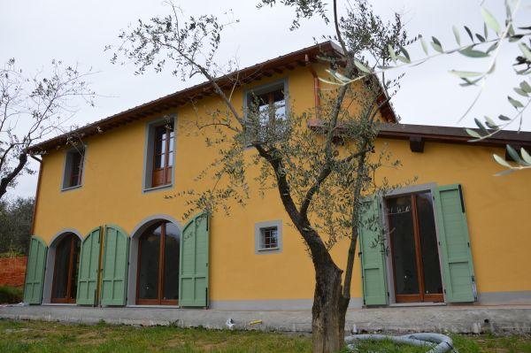 Villa in X-Lam CasaClima classe A con involucro termico ad alta efficienza