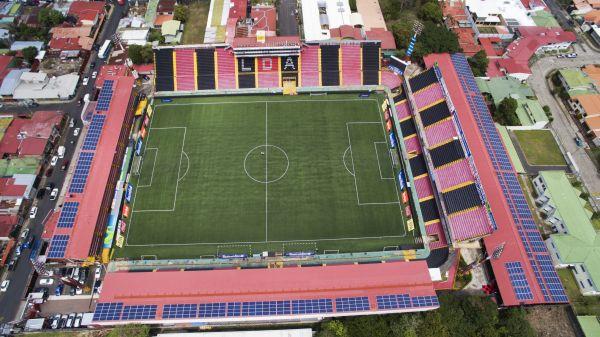 In Costa Rica il primo stadio del centro America alimentato completamente da fotovoltaico