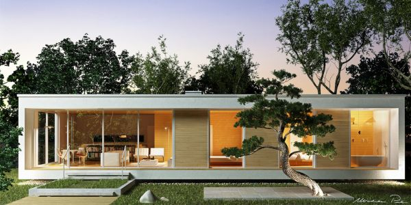 Glam, una casa in legno hi-tech e sostenibile