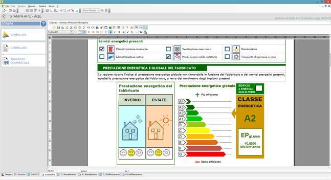 Il software per la certificazione energetica Termus pronto per l'APE