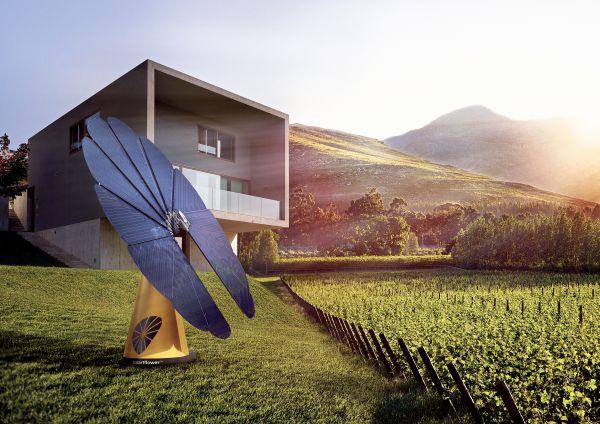 smartflower POP+, il fotovoltaico bello che accumula energia!