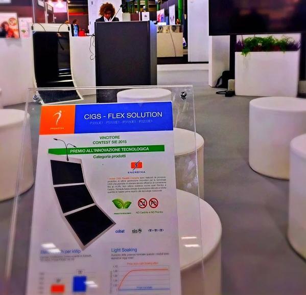 Il SIE premia Prometea, modulo fotovoltaico flessibile a elevate prestazioni