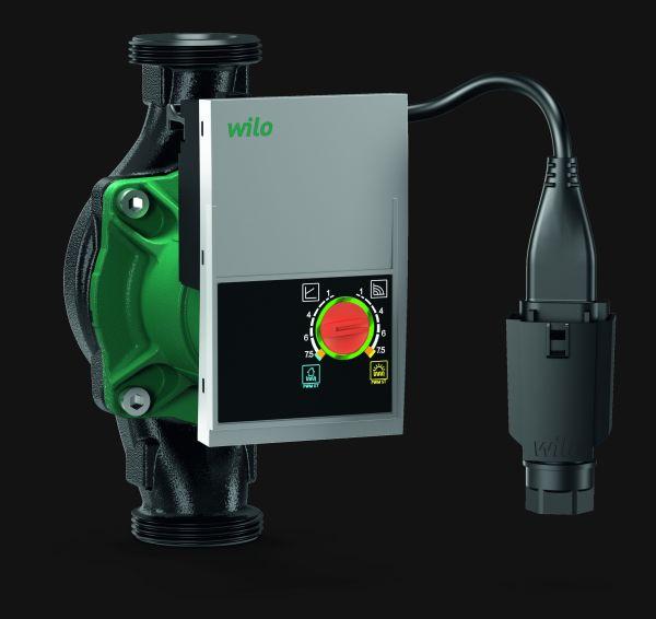 Pompa ad alta efficienza per applicazioni in impianti geotermici o solare termico