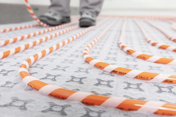 Sistema di posa per impianti radianti a pavimento