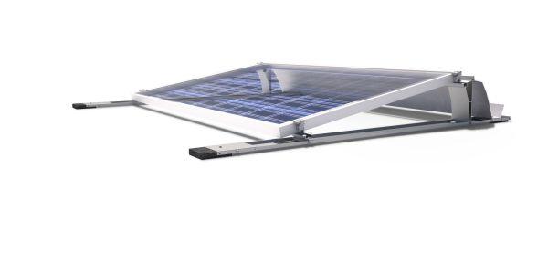 Nuovo sistema di supporto per impianti fotovoltaici orientati a sud