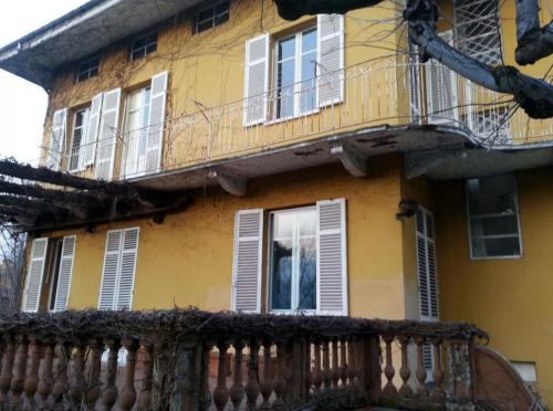 Soluzioni Viero per l'isolamento termico della facciata di una villa a Biella