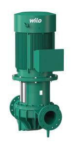 Elettropompe in-line a motore ventilato standard