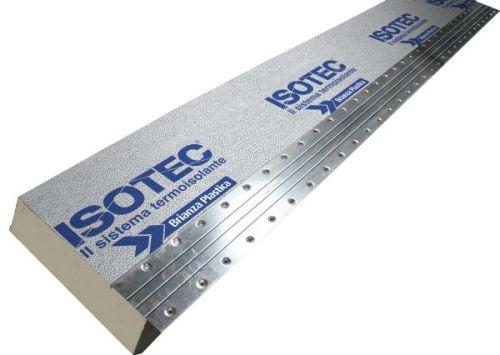 ISOTEC LINEA – Sistema di isolamento termico per coperture e facciate non ventilate